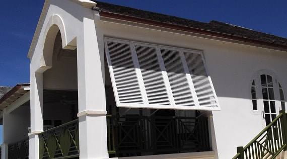 Bahama Shutters for veranda or balcony