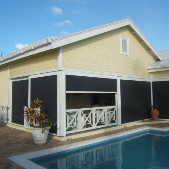 retractable sun screens