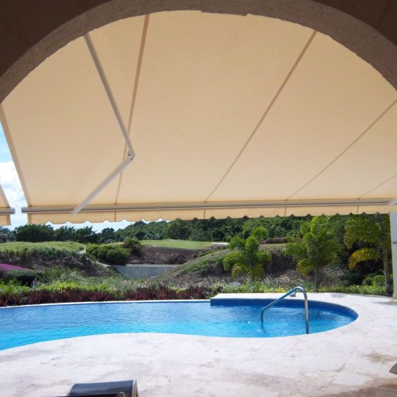 Premium awnings in Barbados