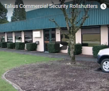 Talius Commercial Security Rollshutters