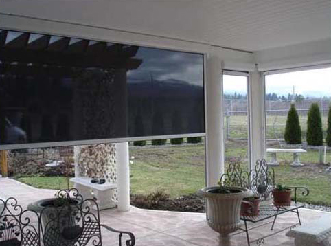 solar screens for patio, deck or gazeebo