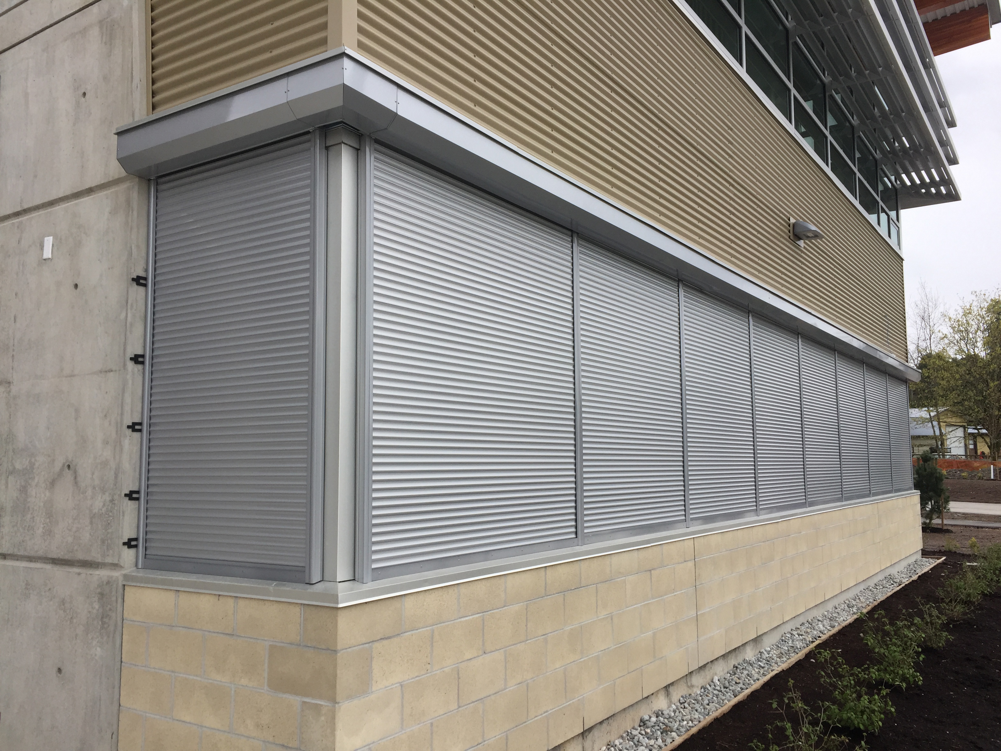 Customized security shutters