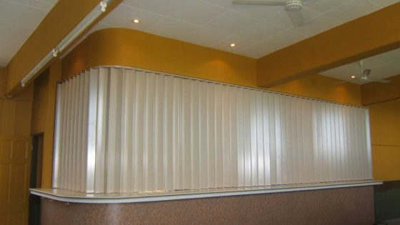 Commercial Accordion Shutters