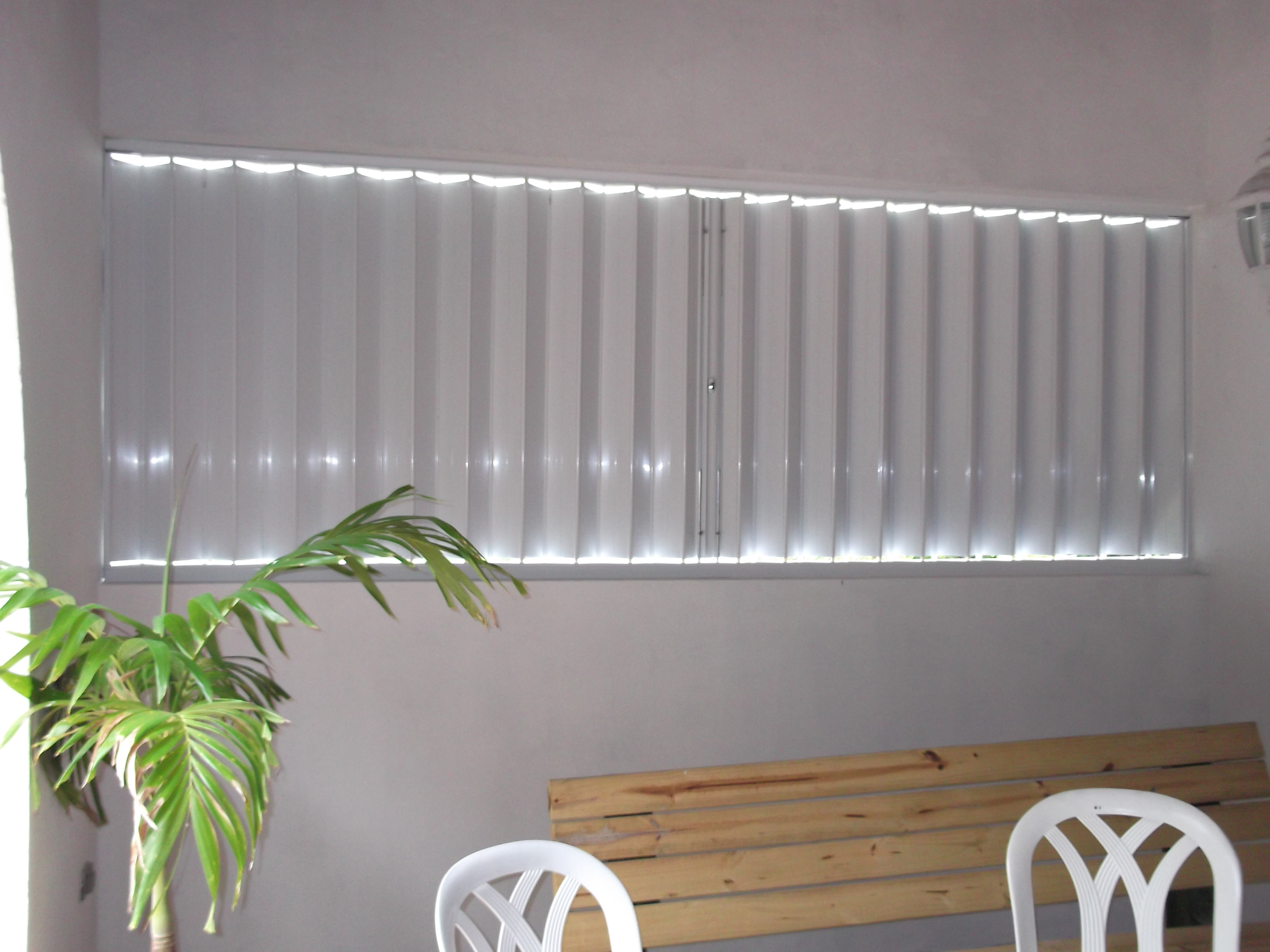 Accordion Shutters Inside View