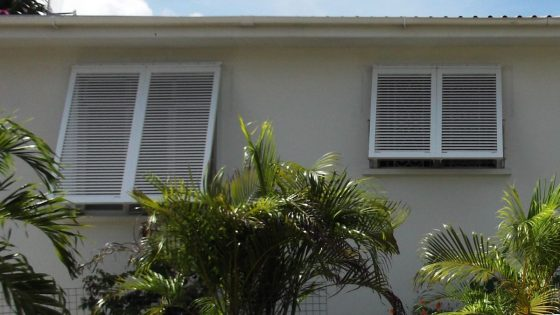 Bahama Shutters Different Sizes on Windows