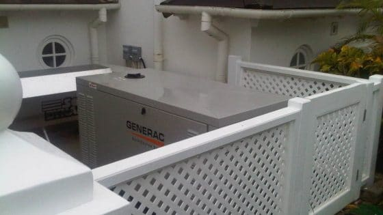 Generac Standby Power Generator Commercial