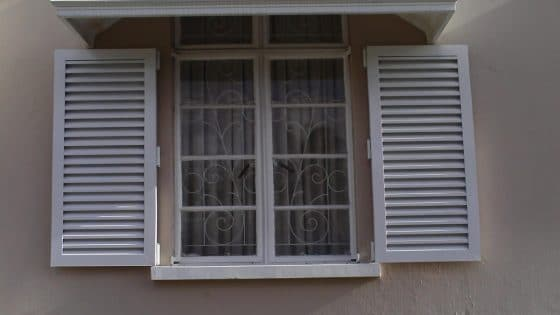 Colonial Shutters for Sun Protection