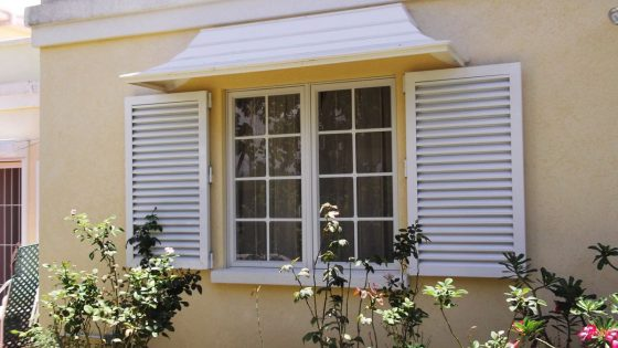 Colonial Shutters in Residential Application