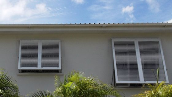 Different Sized Bahama Shutters
